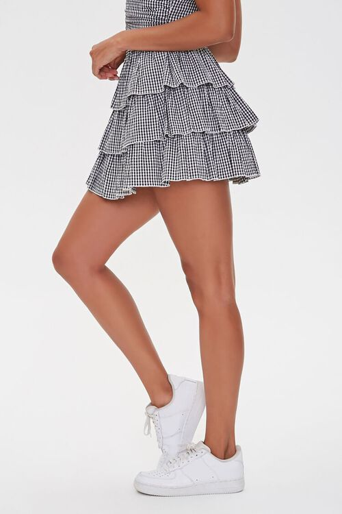 Gingham Tiered Skirt, image 3