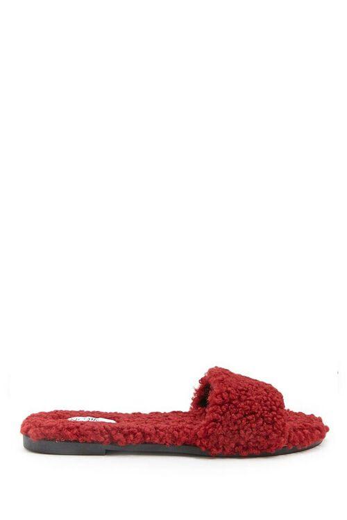 Faux Fur Slides, image 1