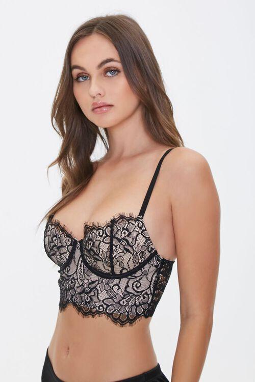 Eyelash Lace Bra, image 1