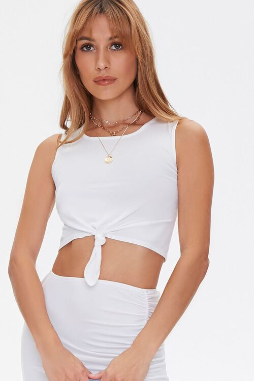 Crop Top & Midi Skirt Set, image 5