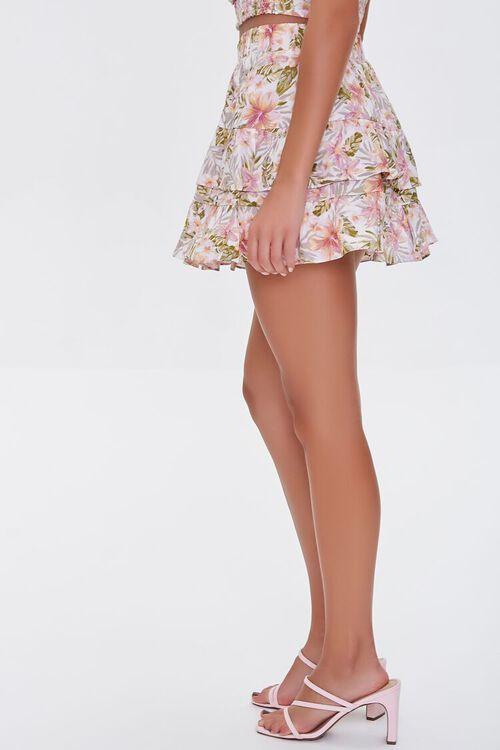 Floral Print Mini Skirt, image 3
