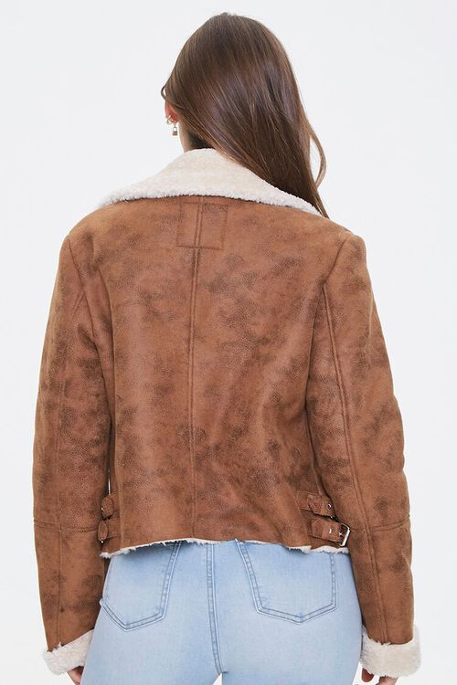Faux Shearling & Suede Jacket, image 3