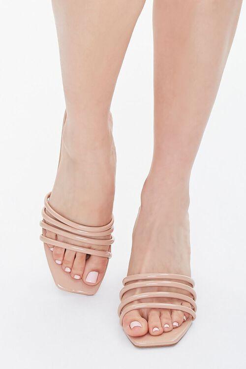 Strappy Slip-On Stiletto Heels, image 4