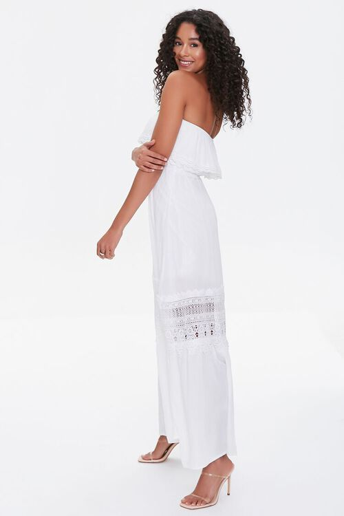 Lace-Trim Maxi Dress, image 2