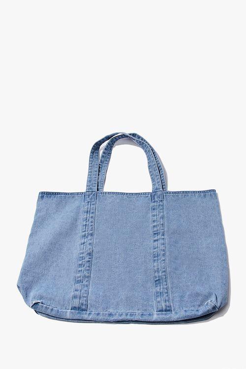 Denim Eco Tote Bag, image 1