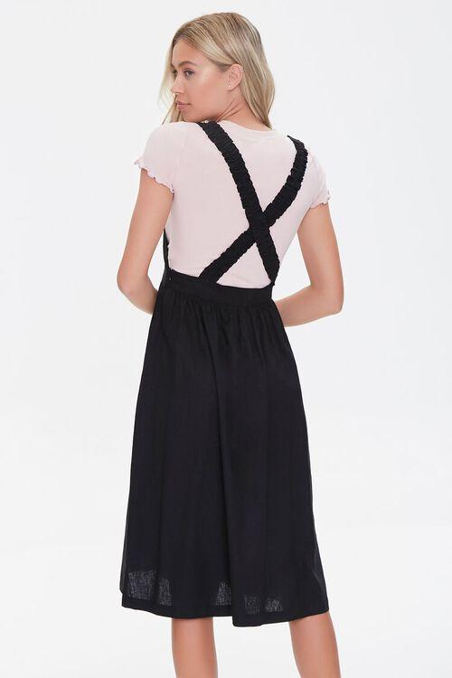 Linen-Blend Pinafore Dress, image 3