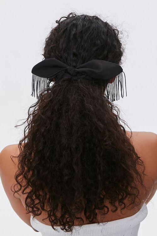 Fringe Bow Scrunchie, image 1