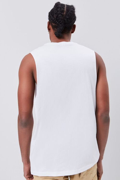 Organically Grown Cotton Pray for Peace Graphic Tank Top, image 3