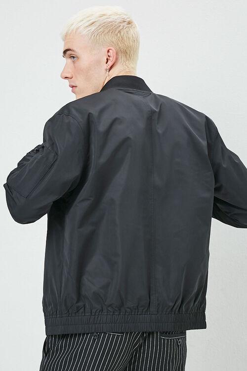 Zippered Bomber Jacket, image 3