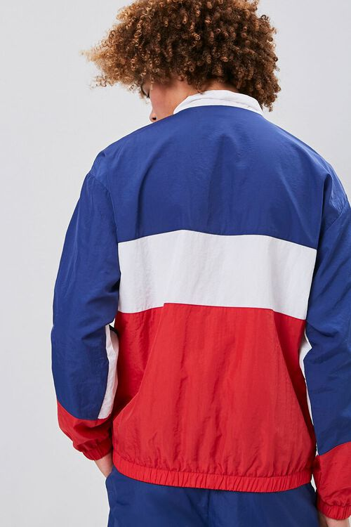 Zip-Up Colorblock Windbreaker, image 3