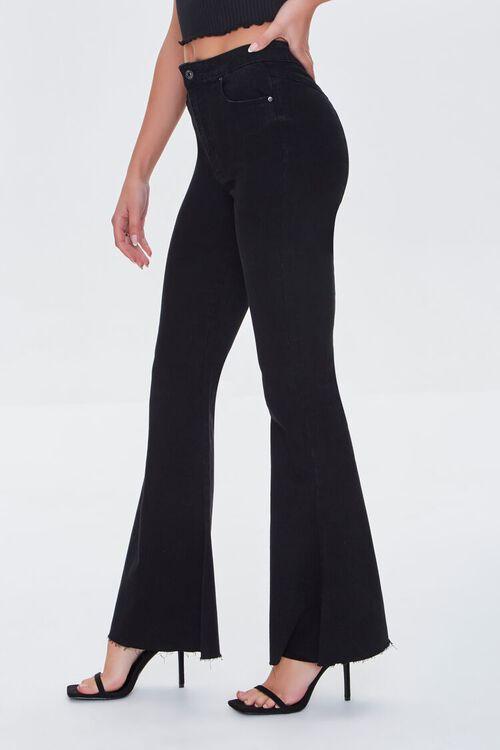 WASHED BLACK Premium Flare Jeans, image 3