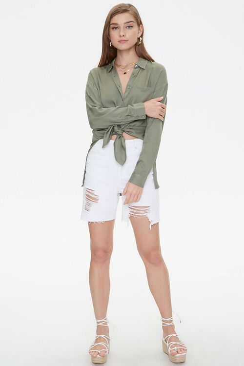 Vented High-Low Longline Shirt, image 4