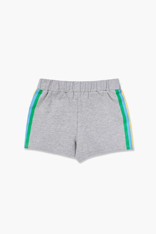 Girls Rainbow-Striped Shorts (Kids), image 2