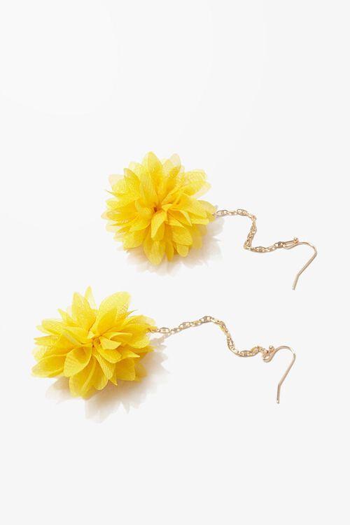 Floral Drop Earrings, image 2