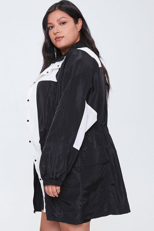 Plus Size Colorblock Utility Jacket, image 2