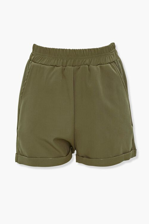 Drawstring Hoodie & Shorts Set, image 4