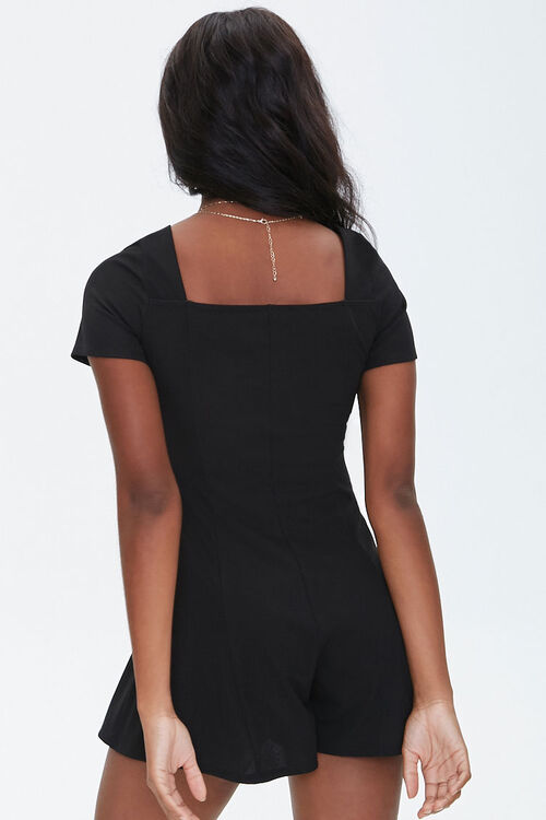 Ribbed Bustier Romper, image 3
