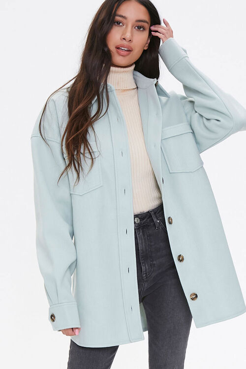 Drop-Shoulder Button-Front Jacket, image 5