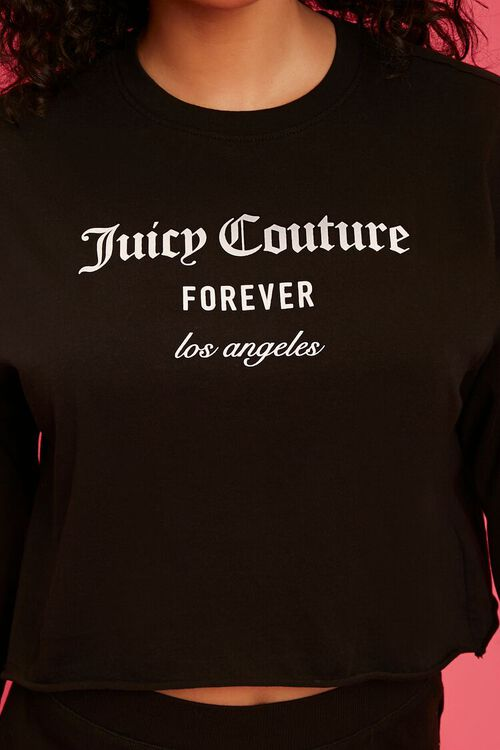 BLACK/WHITE Juicy Couture Graphic Top, image 5