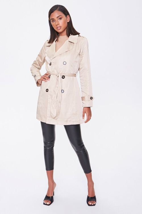 Double-Breasted Trench Coat, image 4