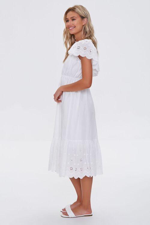 Cotton Floral Eyelet Dress, image 2