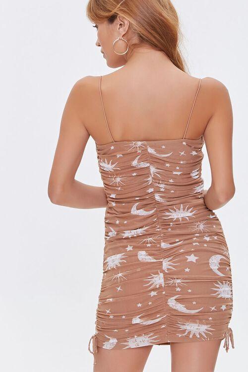 Celestial Print Cami Mini Dress, image 3