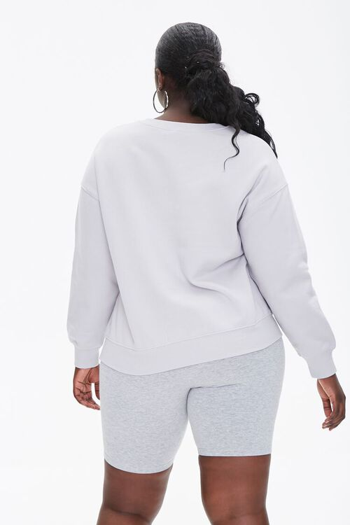 Plus Size Allergic To Mornings Pullover, image 3
