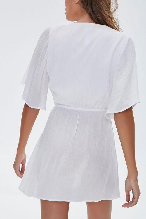 Tie-Front Swim Cover-Up Dress, image 3