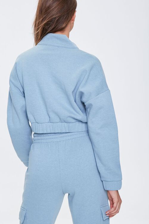 French Terry Half-Zip Pullover, image 3