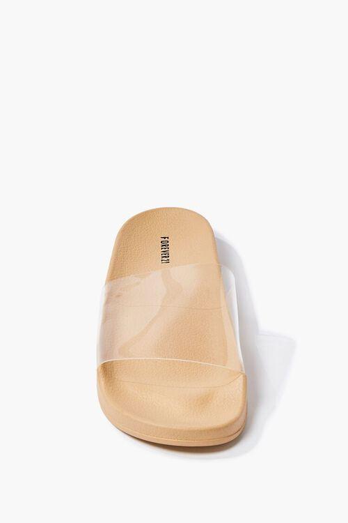 Semi-Transparent Slide Sandals, image 3
