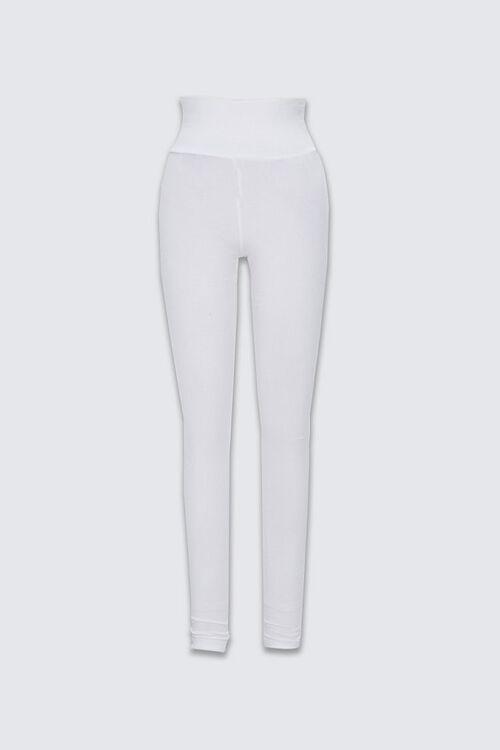 Basic Cotton-Blend Leggings, image 1