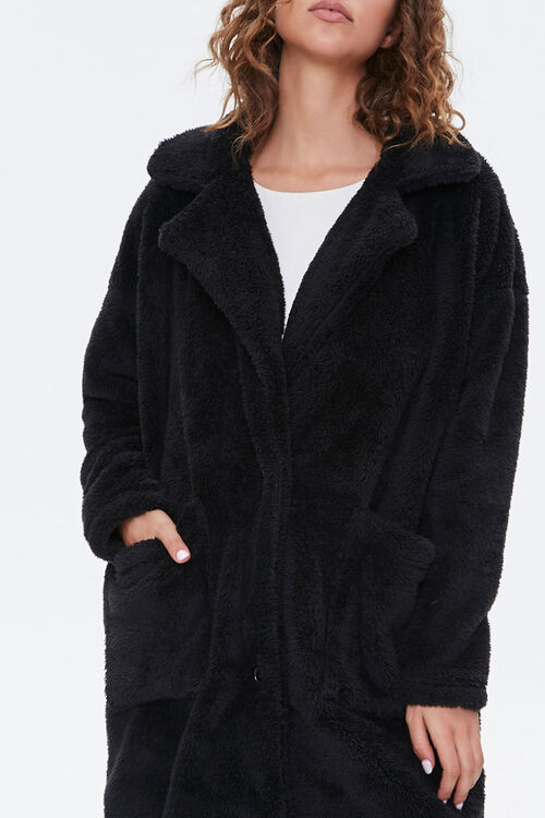 Faux Fur Teddy Coat, image 5