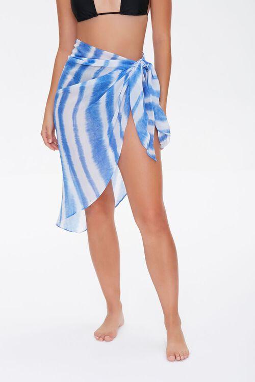 Tie-Dye Swim Cover-Up Sarong, image 3