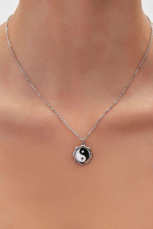 Yin Yang Charm Necklace, image 1