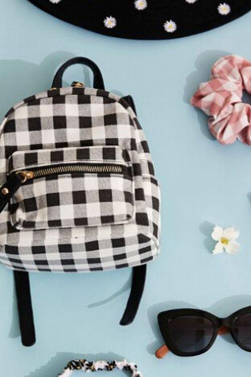 Buffalo Plaid Mini Backpack, image 1