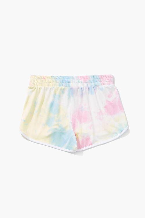 Girls Tie-Dye Dolphin Shorts (Kids), image 2