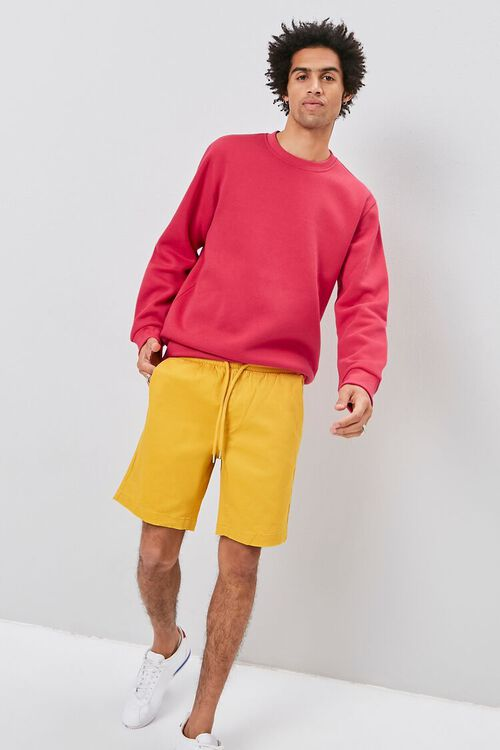 Crew Neck Fleece Sweatshirt, image 5