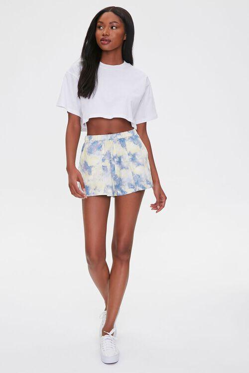 Tie-Dye Wash Shorts, image 5