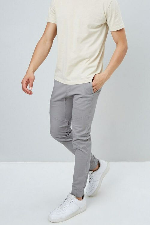 Paneled Jogger Pants, image 1