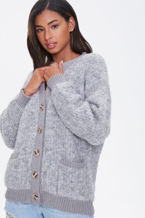 Brushed Cardigan Sweater, image 1