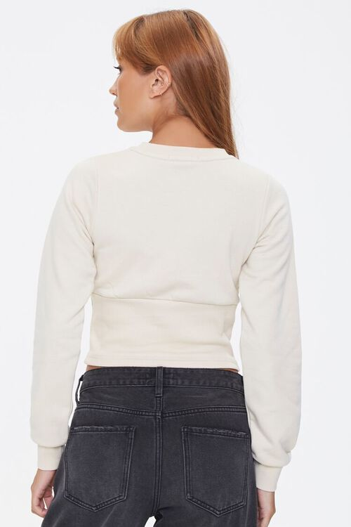 Shirred French Terry Top, image 3