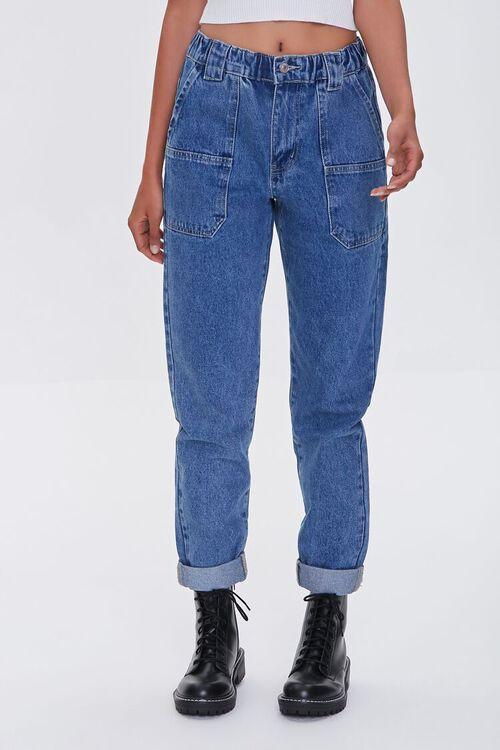 Cuffed Mom Jeans, image 2
