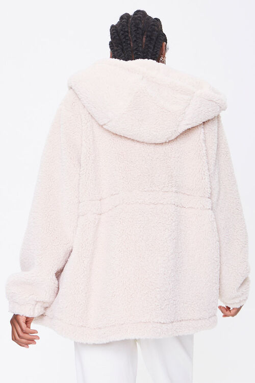 Plush Hooded Jacket, image 3
