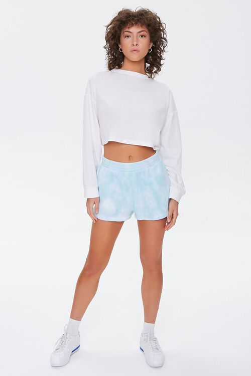 Cloud Wash French Terry Shorts, image 5