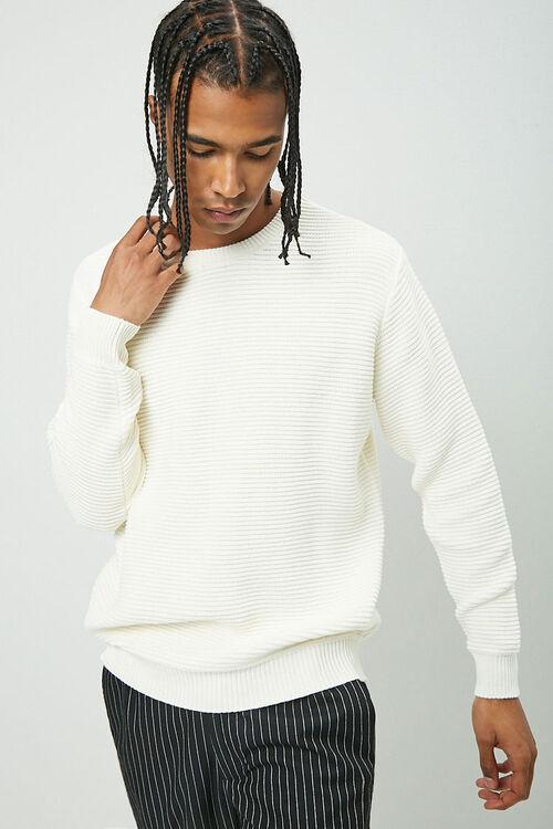 Ribbed Long Sleeve Sweater, image 1