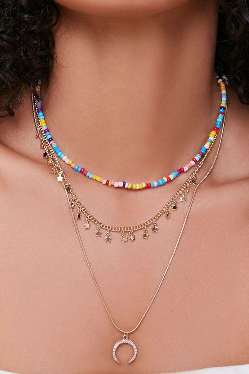 Star Charm Necklace Set, image 1