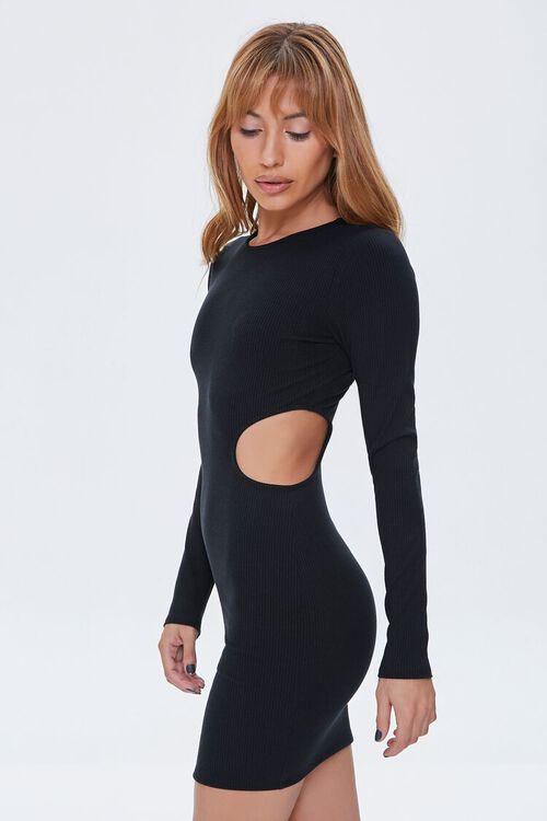 Cutout Bodycon Mini Dress, image 2