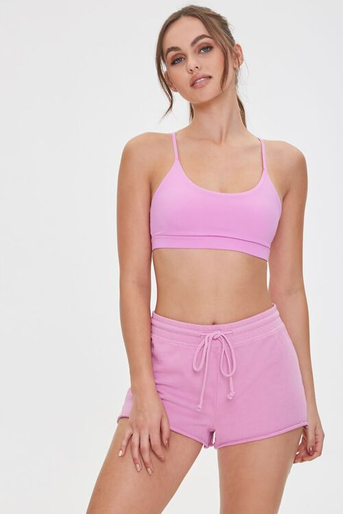 VIOLET Active French Terry Shorts, image 1