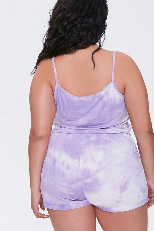 Plus Size Cami Shorts & Face Mask Set, image 3