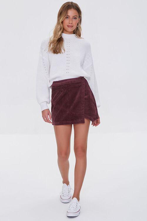 CHOCOLATE Corduroy Mini Skirt, image 5